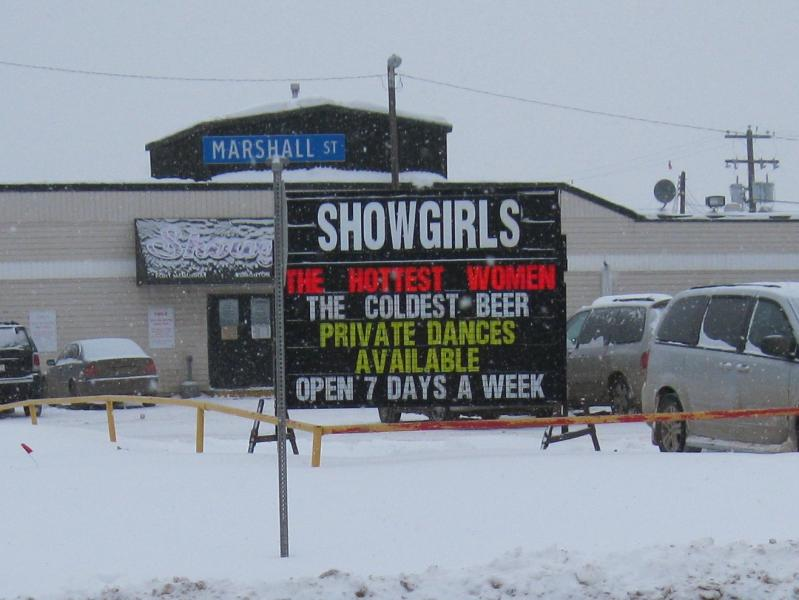 showgirls in fort mcmurray